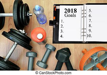 hälsosam, 2018., resolutions, nytt år