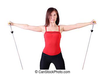 hälsosam, Livsstil,  fitness