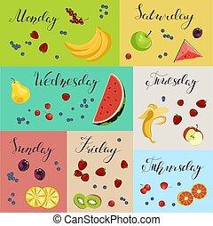 hälsosam, ny mat