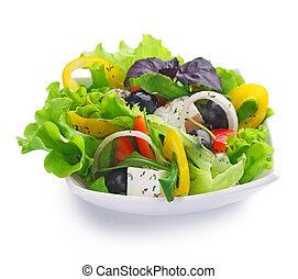 hälsosam, sallad