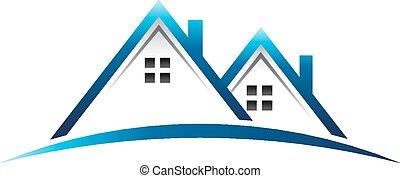 häusser, real estate, logo
