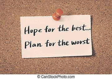 håb, bedst