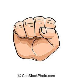 hånd gestus
