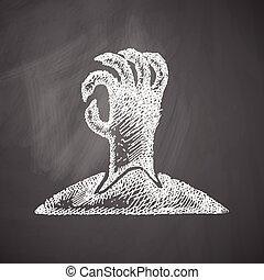 hånd, ikon