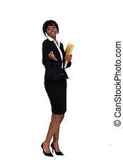 håndslag, hende, businesswoman, hold ræk, kammeratlig, ydre