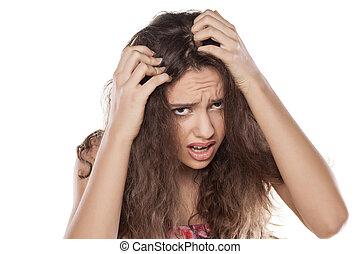 hår avsaknad