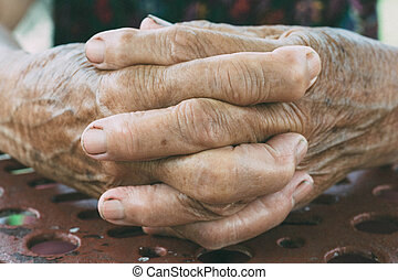 hænder, gamle