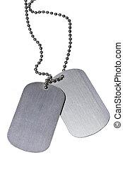 hær, identifikation., tags