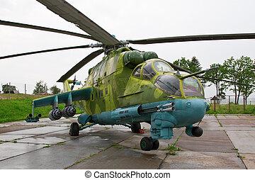 hélicoptère, armée