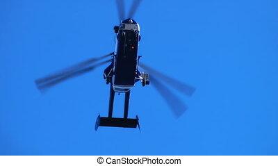 hélicoptère, ciel, hd, -