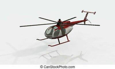 hélicoptère, modèle