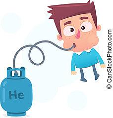 hélio, do que, isqueiro
