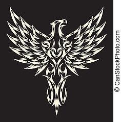 héraldique, aigle