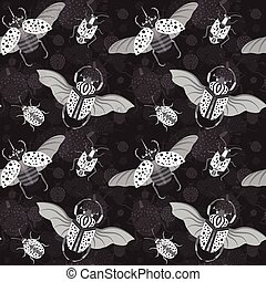 hércules, escarabajo, rinoceronte, bicho, goliath, patrón