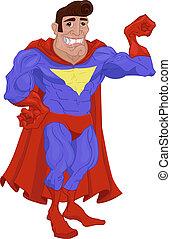 héroe, ilustración