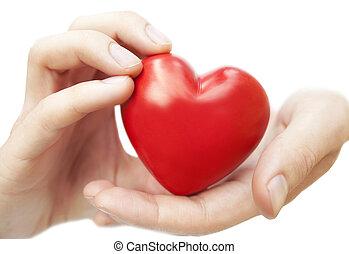 hím kezezés, birtok, noha, szeret, piros szív