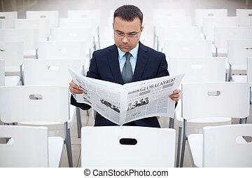 hír, felolvasás