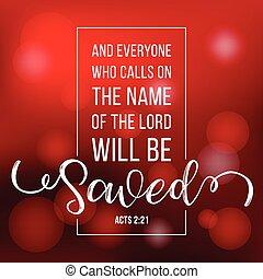 hívás, lenni, árajánlatot tesz, bokeh, biblia, nyomdai, lord, akar, eljátszik, háttér, név, megment
