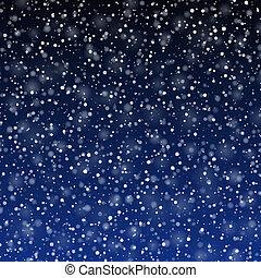 hó, esés