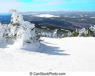 hó, hegy