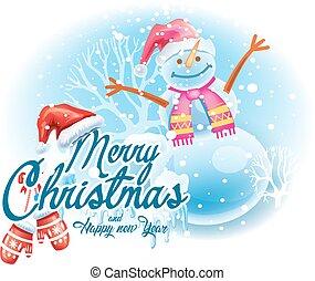 hóember, böllér, karácsony