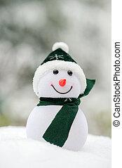 hóember, külső