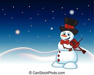 hóember, odaköt, kalap, íj