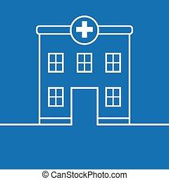 hôpital, bâtiment