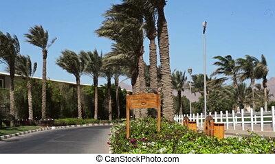 hôtel, égyptien