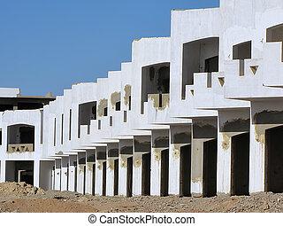 hôtel, construction