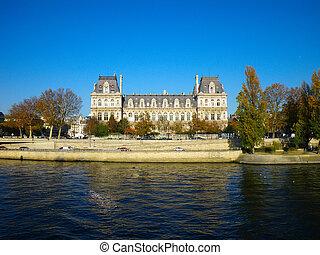 hôtel, de, france., ville, paris