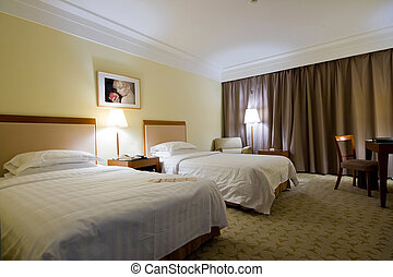 hôtel, intérieur