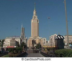 hôtel, leningradskaya