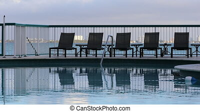 hôtel miami, plage, piscine