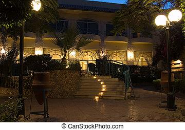 hôtel, nuit