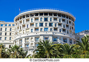 hôtel paris, dans, monte carlo, dans, monaco