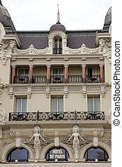 hôtel paris, dans, monte carlo, monaco