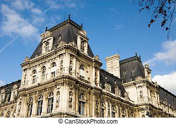 hôtel paris, de, ville