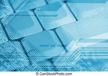 höga teknologiska, bakgrund