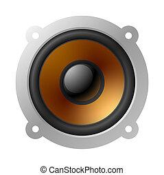 högljudd högtalare