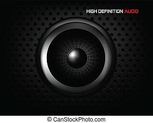 högtalare, bakgrund