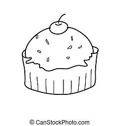 Kuchen Schwarz Weiss
