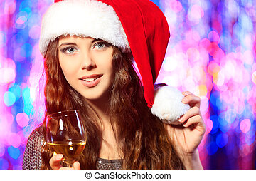 hölgy, karácsony