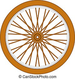 hölzern, fahrradrad