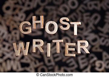hölzern, text, ghostwriter, briefe