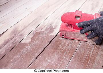 Fußboden Polieren ~ Maschine parkett wartung mahlen boden. bodenarbeit zimmermann