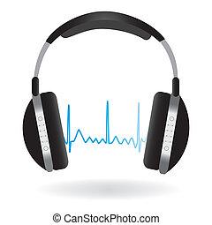 hörlurar, soundwave