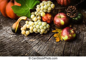 höst, frukt