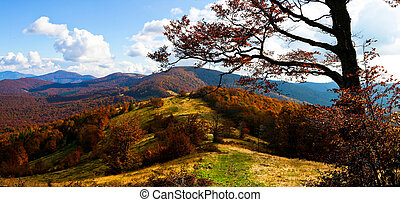 höst, mountains