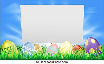 húsvét, aláír